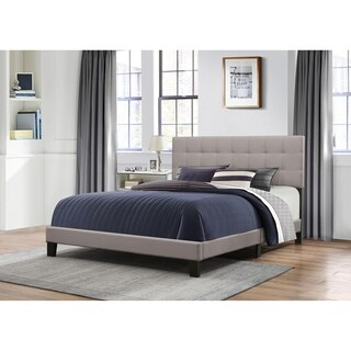 Hillsdale Delaney Bed in One - King - Stone Fabric