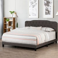 Hillsdale Nicole Bed in One - King - Stone Fabric