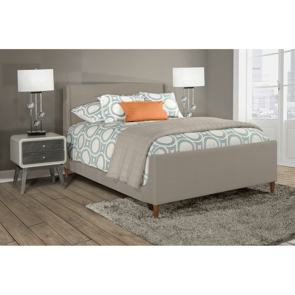 shop hillsdale denmark bed queen side rails included free shipping today overstock. Black Bedroom Furniture Sets. Home Design Ideas
