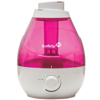 Safety 1® 360° Cool Mist Ultrasonic Humidifier in Raspberry (1)