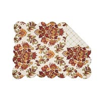 Addison Rustic Cotton Quilted Placemat Set of 6