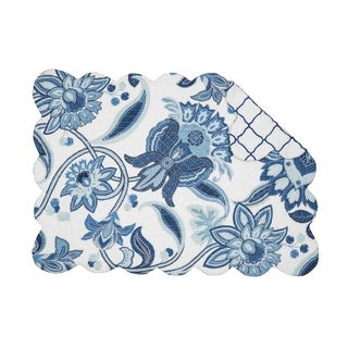Isabella Cotton Quilted Placemat Set of 6
