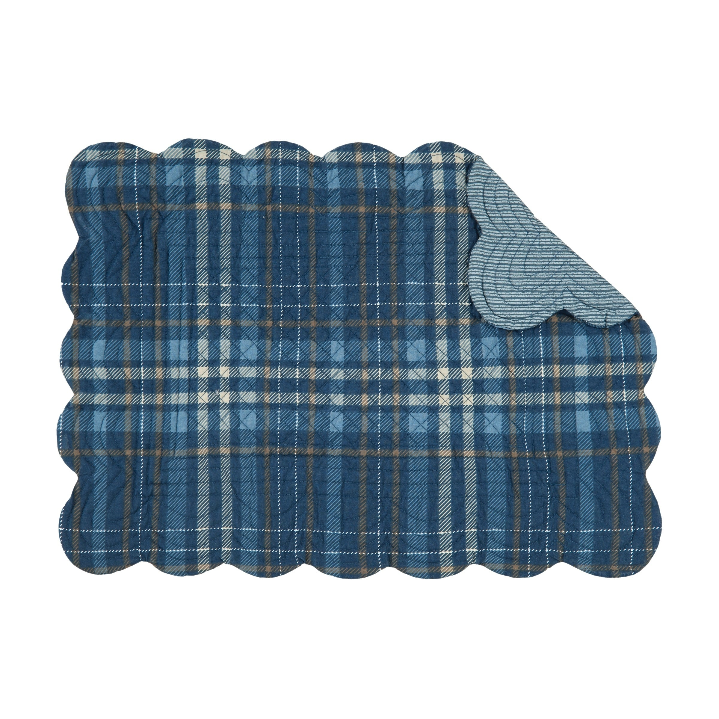 Cotton Quilted Placemat Set