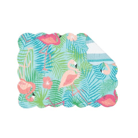 Adelaide Flamingo Quilted Placemat
