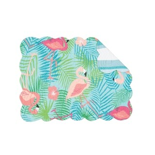 Isla Island Cotton Quilted Reversible OblongPlacemat Set of 6 (2 options available)