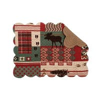 Ranger Ridge Cotton Quilted Placemat Set of 6 - N/A