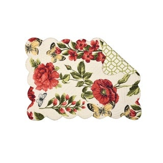 Camila Cotton Quilted Placemat Set of 6