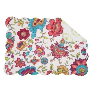 Eva Cotton Quilted Placemat Set of 6