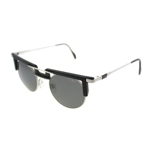 efcb8ab02e Cazal Round Cazal 745 Legends 3 Unisex Black Frame Grey Lens Sunglasses