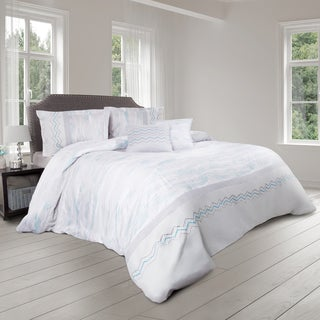 Chevron 5 Piece Comforter Set