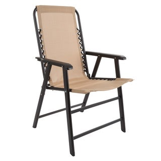 Pure Garden Suspension Folding Chair (2 options available)