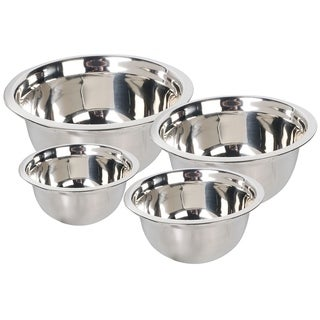 A La Cuisine - 4pc Stainless Steel Mixing Bowls Set