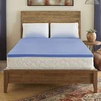 Serta Comfort 2-inch Gel-Infused Memory Foam Topper
