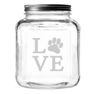 Love Paw Gallon Treat Jar