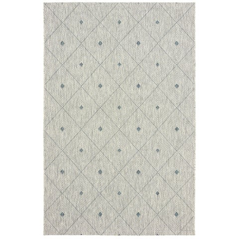 LR Home Sun Shower Indoor/Outdoor Rectangular Area Rug (8'x10') - 8' x 10'