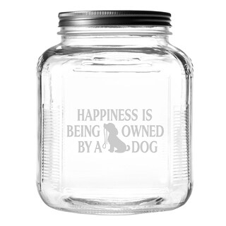 Owned By a Dog Gallon Treat Jar