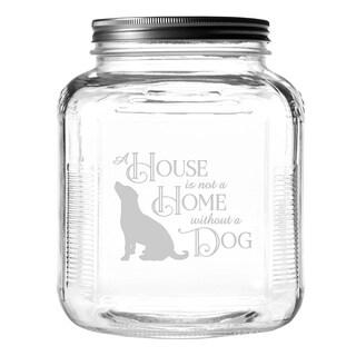 House Home Dog Gallon Treat Jar