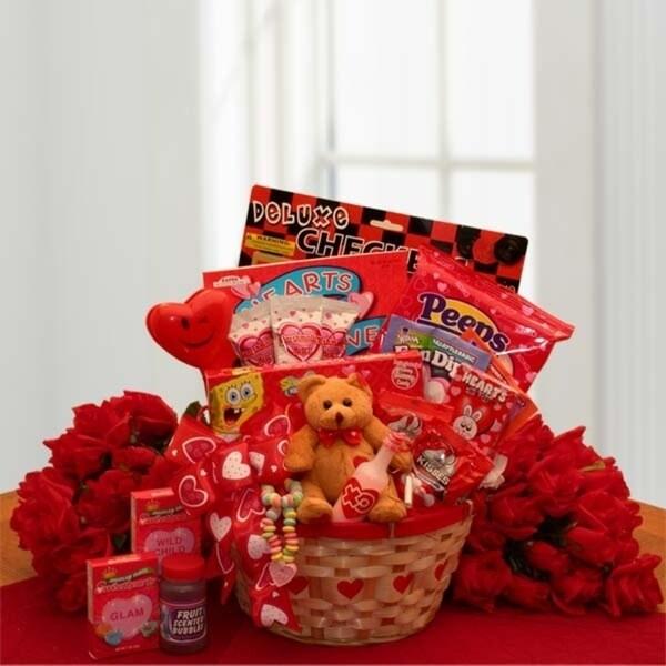 4f2f29afb3 My Little Valentine Children's Gift Basket