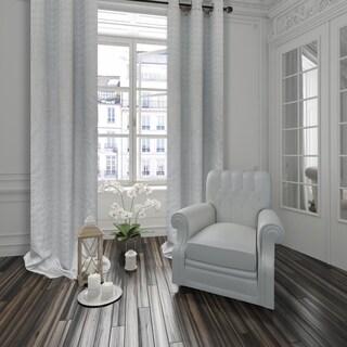 Dainty Home Empire Room Darkening Heavy Matelasse Grommet Window Curtain Panel Pair