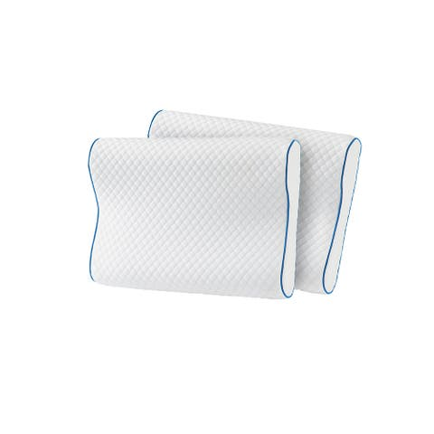 Serta Cool Touch Contour Memory Foam Pillow (Set of 2)