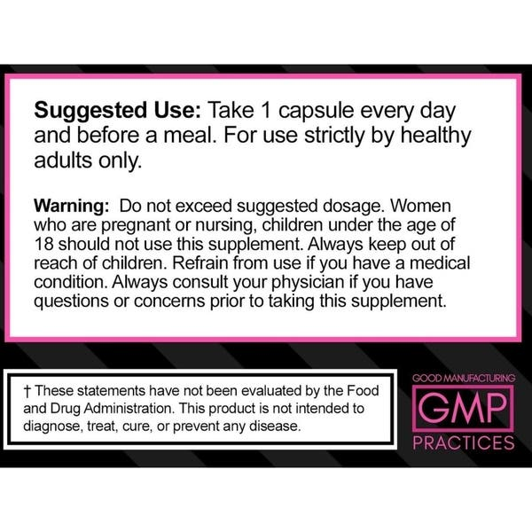 Shop Skinny Gal Weight Loss Thermogenic Diet Pills For Women 60 Capsules Overstock 19994311