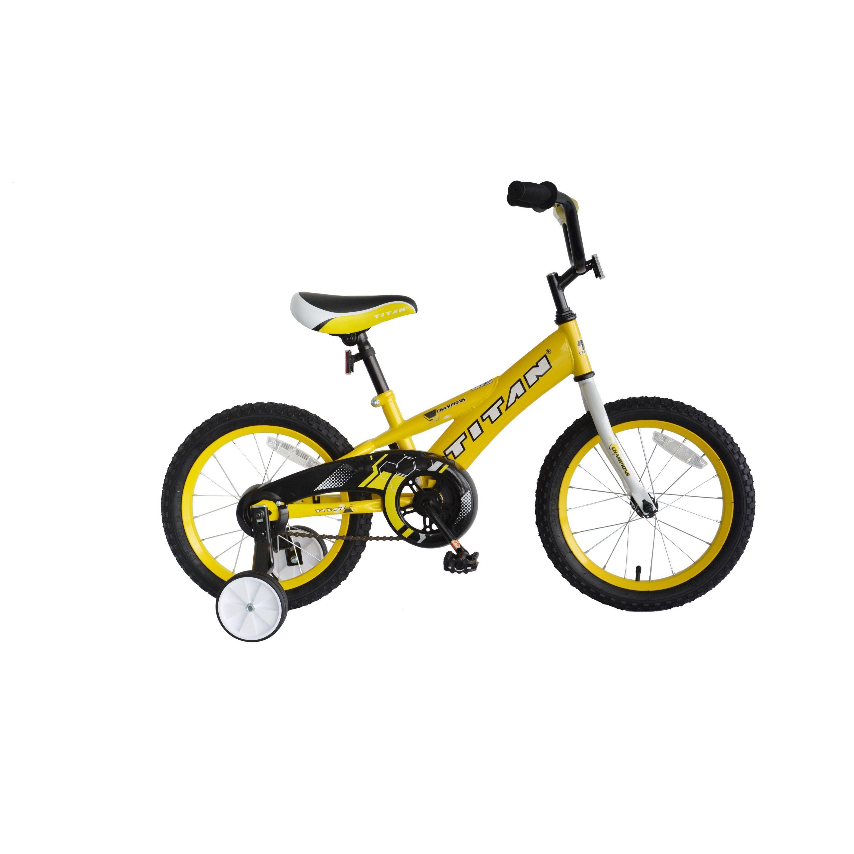 Titan Champion Bicycle Boys Kids Bmx Bike Cycling Training Wheels
