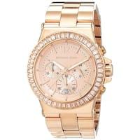 Michael Kors Women's MK5412 Dylan Chronograph Rose Gold Stainless Steel Bracelet Watch