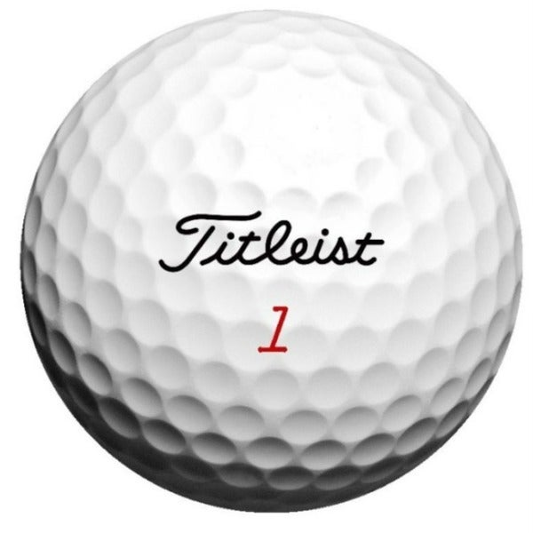 Titleist Mix Recycled Golf Balls w/ Red Mesh Bag (Pack of 24)