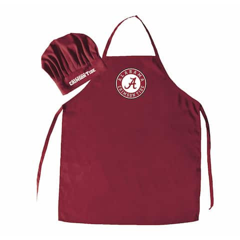 NCAA Alabama Crimson Tide Chef Hat And Apron
