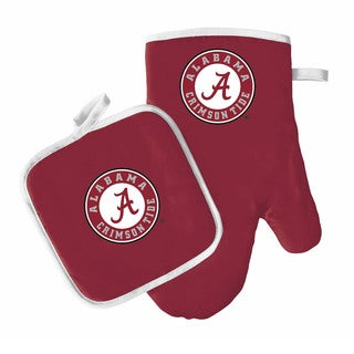 NCAA Alabama Crimson Tide Oven Mitt And Pot Holder