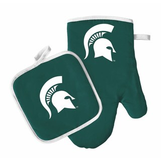 NCAA Michigan St Spartans Oven Mitt and Pot Holder