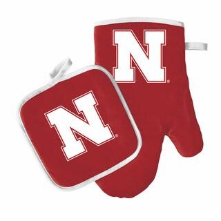 NCAA Nebraska Cornhuskers Oven Mitt And Pot Holder