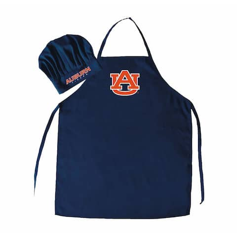 NCAA Auburn Tigers Chef Hat Anhd Apron
