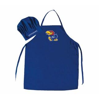 NCAA Kansas Jayhawks Chef Hat And Apron