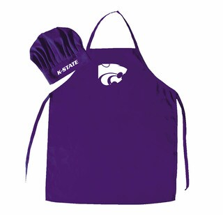 NCAA Kansas State Wildcats Chef Hat And Apron
