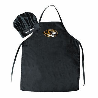 NCAA Missouri Tigers Chef Hat And Apron