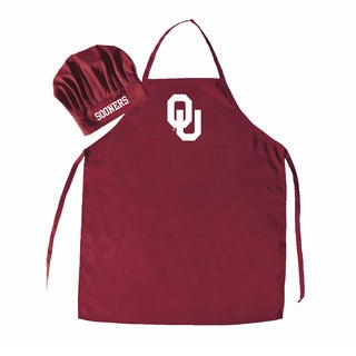 NCAA Oklahoma Sooners Chef Hat And Apron