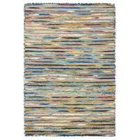 LR Home Topanga Striped Wool and Jute Indoor Area Rug (5'x8') - 5' x 7'13