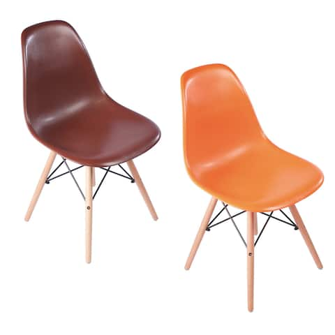 Harvest Mid-Century Modern Retro Dining Chair
