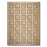 Formal Classic Asmara Needlepoint Aubusson Hand Woven Area Rug - multi
