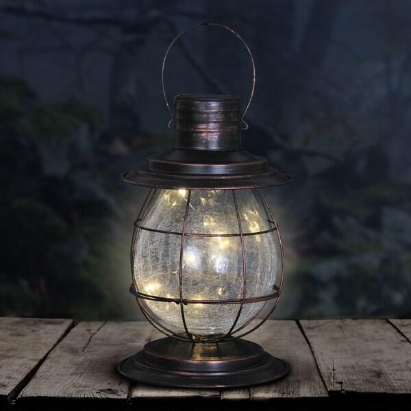 Solar Firefly Lantern Light With Base