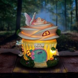 Solar Fairy Ice Cream Shop Cake House