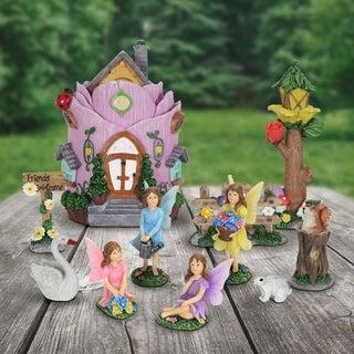 11pc Mini Fairy Garden Set
