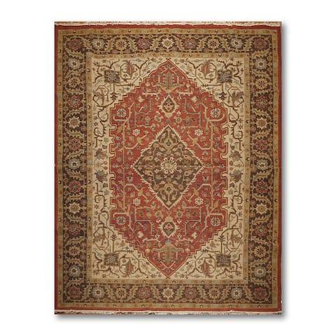 Rich Look Nourison Nourmak Soumak Reversible Oriental Area Rug - Rust/Beige - 9' x 12'