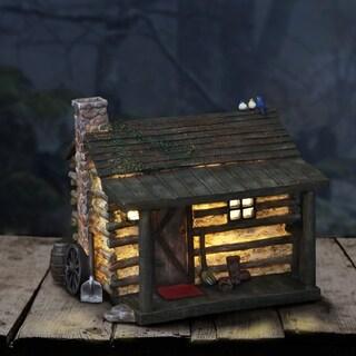 Solar Log Cabin House