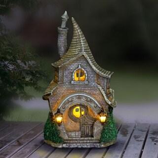 Solar Whimsical Fairy School House