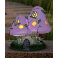 Solar Two Mushroom House Lavender