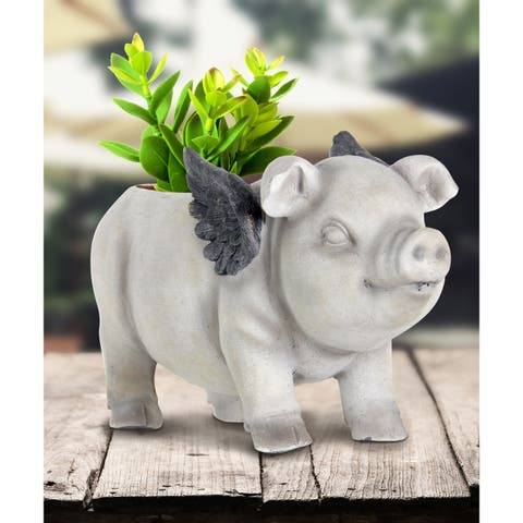 Flying Pig Planter