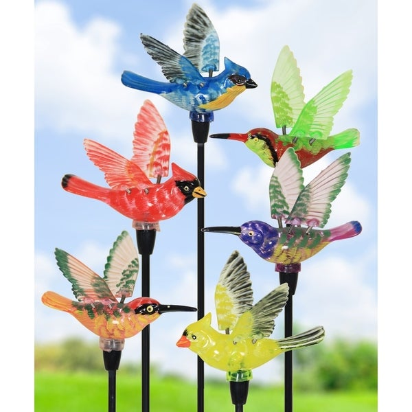 Shop 4 Quot Solar Windywings Bird Stakes Set Of 6