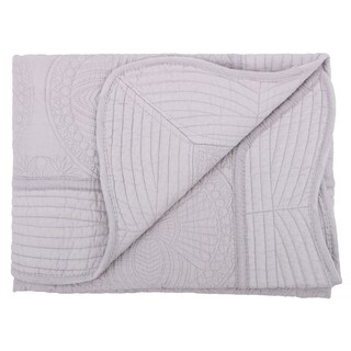 Four Seasons All Weather Cotton Quilt Toddlers and Baby Blanket (Option: Grey)